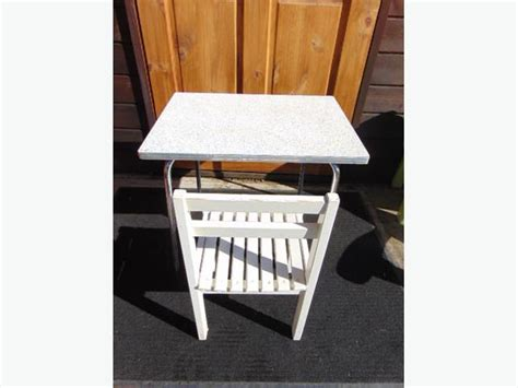 vintage childrens metal table and chairs 2 childrens wood metal vintage table and chair 1960 s