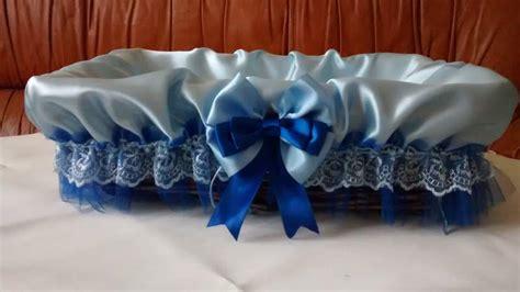 ceste porta bomboniere cesto in raso porta bomboniere azzurro a trieste kijiji