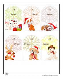 Printable christmas gift tags printable christmas tags cute
