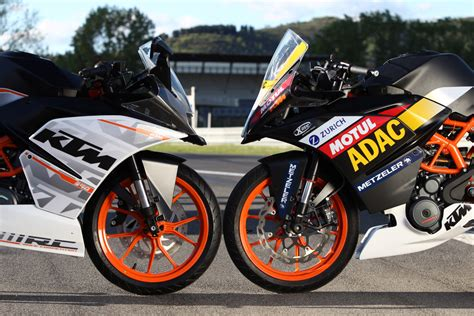 Ktm 390 Race Bike Adac Junior Cup Powered By Ktm Technik Der Ktm Rc 390 Cup