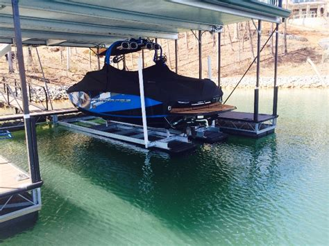 boat lift deck custom dock systems builds quality boat docks boat lifts