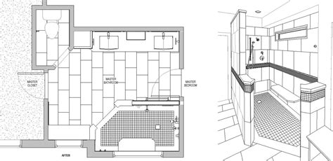 large master bathroom floor plans shower or a soak is a shower tub or combo best for you