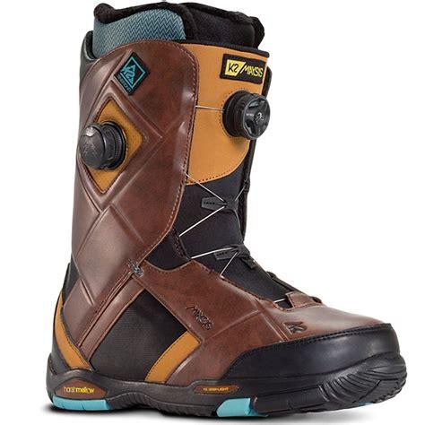k2 boots k2 maysis snowboard boots 2016 brown
