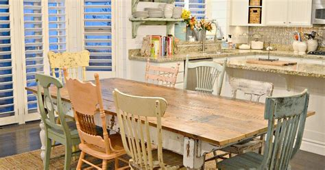 Diy Painting Kitchen Table And Chairs by Diy Chippy Farm Table W Mismatched Chairs Hometalk