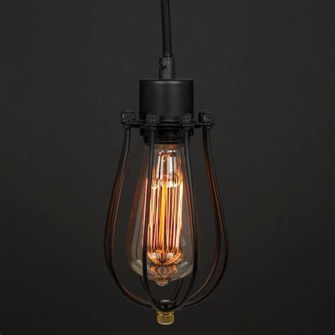 Sunlite Lighting sunlite 07003 1 light medium base black cage pendant light fixture aqf pd cg ob