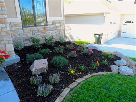 plant beds perennial flower bed