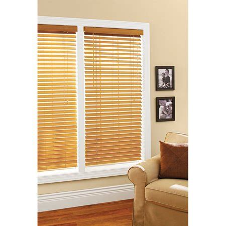 small l shades walmart better homes and gardens 2 quot faux wood windows blinds oak
