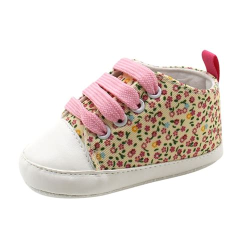 Soft Sole Crib Shoes Infant Toddler Baby Boy Girl Sneaker Crib Shoes Baby Boy