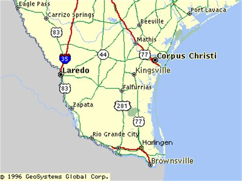 map of south texas south texas map