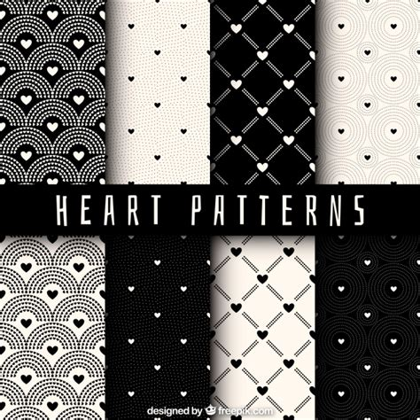 svg pattern collection hearts pattern collection vector free download