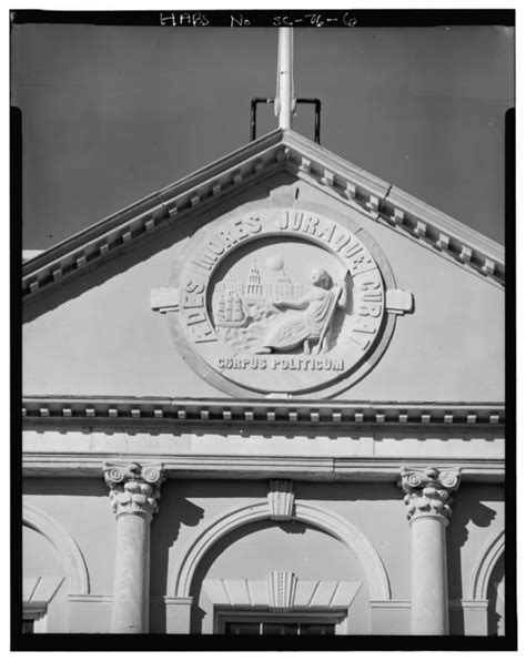 File:PEDIMENT CARTOUCHE AND 2ND FLOOR CORNICE (SOUTH SIDE