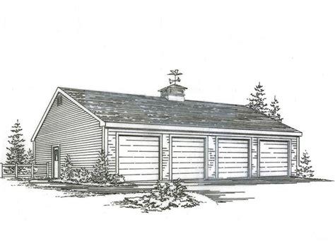 4 car garage plans bing images 48x 24 four car garage building plans blueprints ebay
