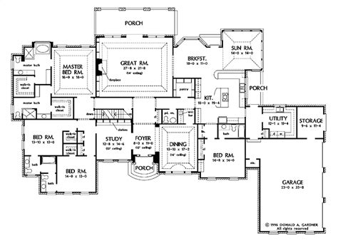 house designs floor plans american house plans smalltowndjs