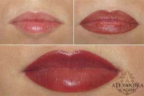 full lip tint tattoo lip permanent makeup by alexandra patkos alexandra patk 243 s