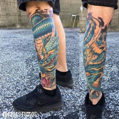 japanese tattoo leg designs finished japanese style leg sleeve by alex
