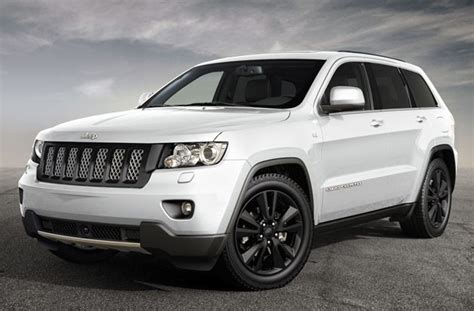 White Jeep Grand With Black Rims For Sale Jeep Bringing Pair Of Black And White Quot Production Intent