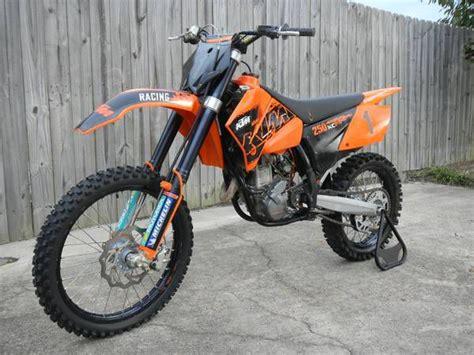 250 Ktm 4 Stroke 2007 Ktm 250 Xcf 4 Stroke Dirt Bike For Sale On 2040 Motos