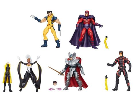 All New Xmen 5 Pack Marvel Legends Hasbro Mib marvel legends infinite series set of 5 jubilee