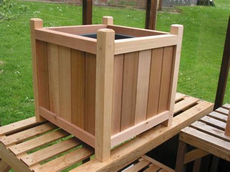 Cedar Planters Plans by Woodworking Rectangular Cedar Planter Box Plans Plans Pdf