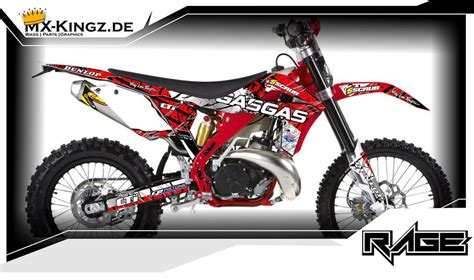 Gasgas Aufkleber Set by Gas Gas Dekore Mx Kingz Motocross Shop