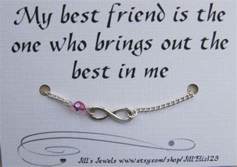 Best Friend Bracelet Best friend Gift Infinity Charm