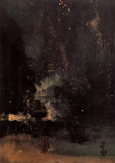 Pavillion Aus Holz 1877 by Nocturne In Schwarz Und Gold Die Fallende Rakete