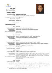 Curriculum Vitae Europass by C V Europass Portugu 234 S