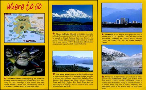 travel brochure guide latin america geography webquest
