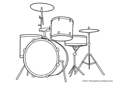coloring book kits coloring page drum kit img 5947