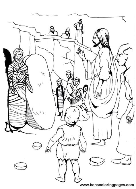 coloring pages of jesus and lazarus beautiful lazarus coloring page contemporary exle