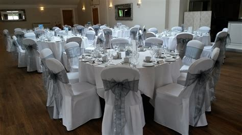 white cotton wedding chair covers chair covers a setting wedding decorations