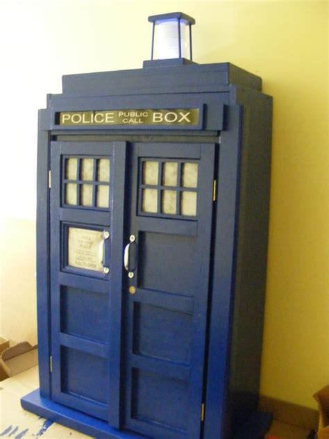 tardis bookcase cupboard goodhart maker den of unequity