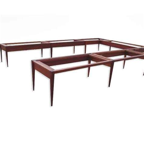 Mahogany Conference Table 18ft Enron Deatherage Solid Mahogany Conference Table Ebay