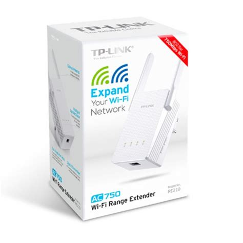 Tp Link Re210 Ac750 Dual Band Wireless Wall Plugged Range Extender tp link re210 ac750 wifi range extender dual band max