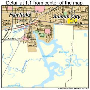 map of fairfield ca world map 07