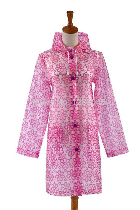 flower pattern raincoat new fashion floral pattern high quality waterproof