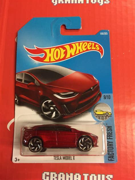 Hotwheels Wheels Tesla Model X tesla model x 196 2017 wheels j new 1 grana toys
