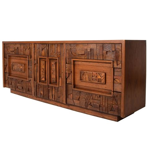 Brutalist Dresser by Brutalist Dresser For Sale At 1stdibs