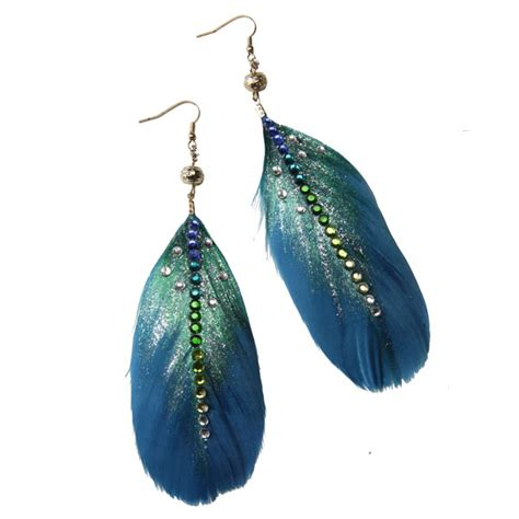 ilovetocreate feather earrings a craft a day with