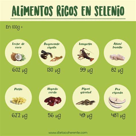 alimentos ricos selenio alimentos ricos en selenio infograf 237 as pinterest
