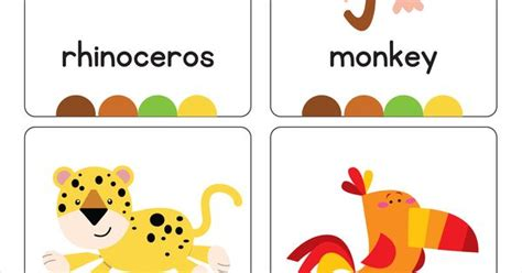 our set of printable quot jungle animal flash cards quot are a our set of printable quot jungle animal flash cards quot are a