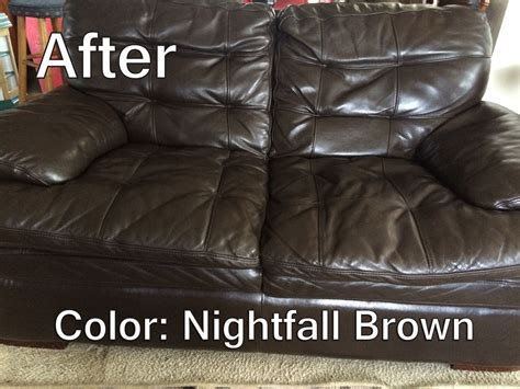 How To Refinish Leather leather refinish an aid to color restorer