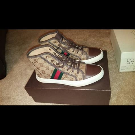 authentic gucci sneakers 40 gucci shoes authentic gucci sneakers from amanda