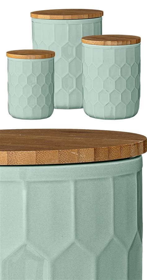 Green Kitchen Canisters by 15 Best Ideas About Kitchen Canisters On Open