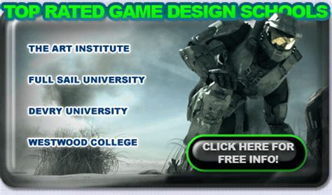 game design colleges become a video game designer