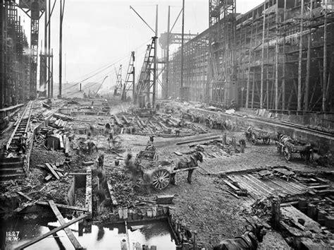 Imagenes Historicas Del Titanic | fotograf 237 as hist 243 ricas de la construcci 243 n del titanic