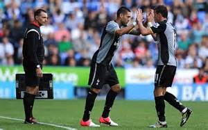 Dempsey And Welcomes Boys by Reading 1 Tottenham 3 Match Report Jermain Defoe And