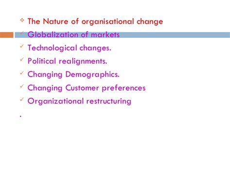 Mba In Organizational Change by Change Process Ppt Bec Doms Mba Bagalkot Mba