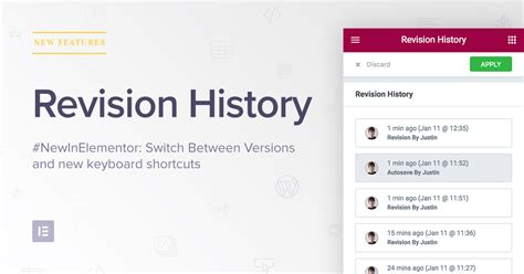 26 revision v1 revision history switch between previous design versions