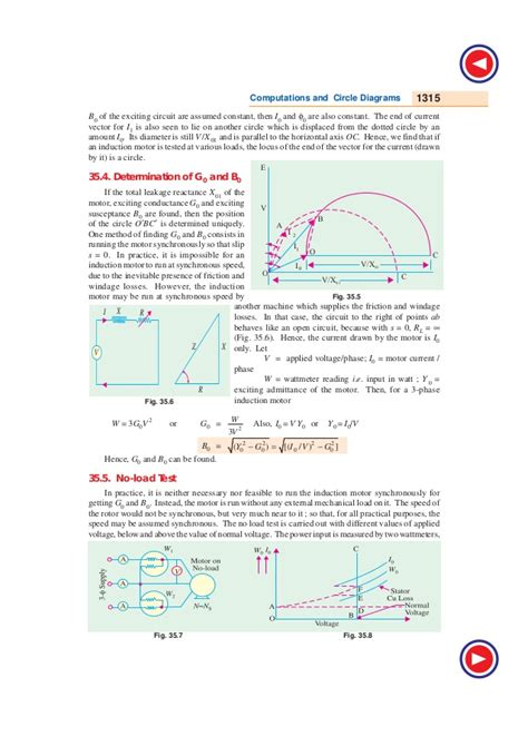 circle diagram of 3 phase induction motor the circle diagram of induction motor 28 images load